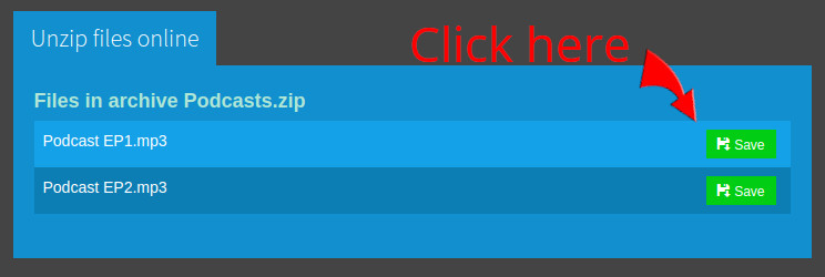 How to convert ZIP to MP3